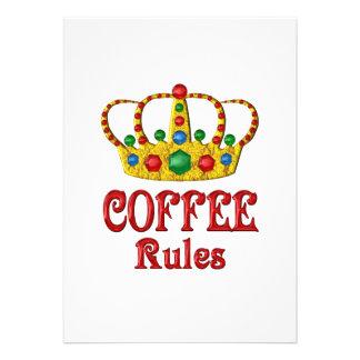COFFEE RULES INVITE