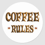 COFFEE RULES STICKERS