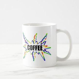 Coffee Rush Classic White Coffee Mug
