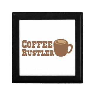 Coffee Rustler Keepsake Box
