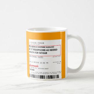 Coffee Rx Prescription Coffee Mug