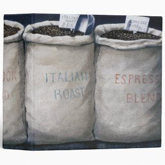 Coffee Sacks 1990 3 Ring Binder