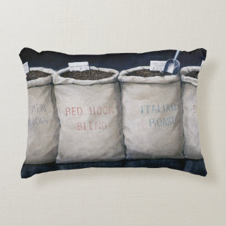 Coffee Sacks 1990 Accent Pillow