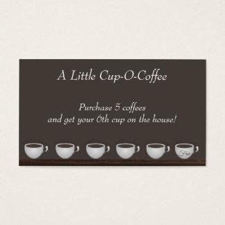 Coffee Savings Loyalty Card