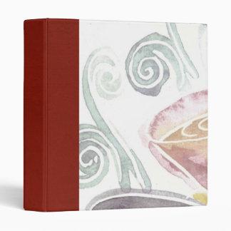 coffee scrapbook binder
