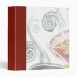 coffee scrapbook binders