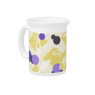 Coffee Service Blueberry Cottage Trellis Motif - Beverage Pitcher