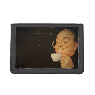 Coffee Sets You Right Trifold Wallets