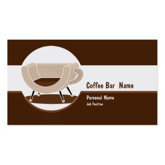 Coffee Shop  Bar Business Business Card