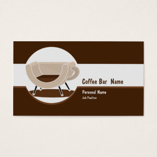 Coffee Shop  Bar Business Business Card