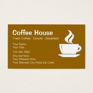 Java cafe business cards templates zazzle coffee shop business cards colourmoves