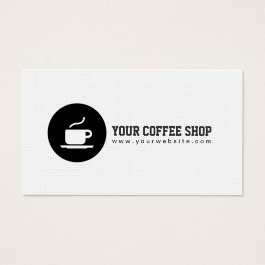 Coffee shop coffee cup cafe minimalist business card zazzle coffee shop coffee cup cafe minimalist business card reheart Gallery