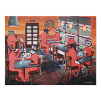 Coffee Shop Culture Photo Print