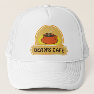 Coffee Shop Cup of Coffee Cafe Hat or Cap