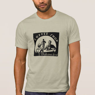 Coffee Shop Delicious Food T-shirt
