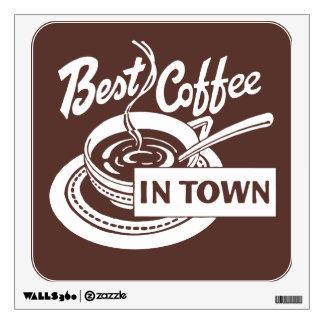 Coffee Shop Wall Art / Wall Sticker