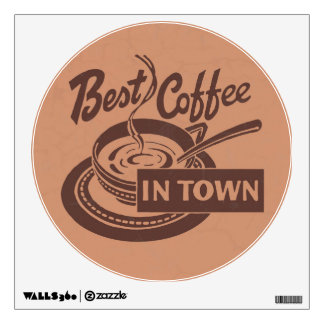 Coffee Shop Wall Art Wall Sticker