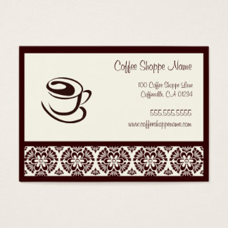 Coffee Shoppe Punch Cards
