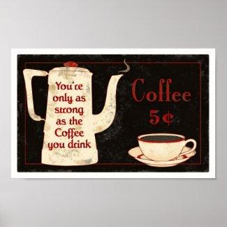 coffee sign1 print