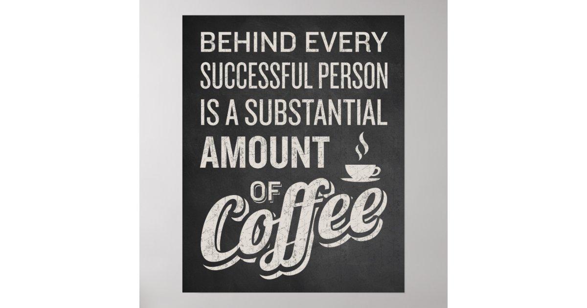 Coffee Sign. Coffee Decor. Funny Coffee Saying. Poster ...