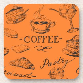 Coffee Sketch Coaster