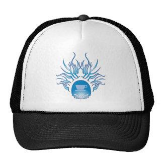 Coffee Skull Trucker Hat
