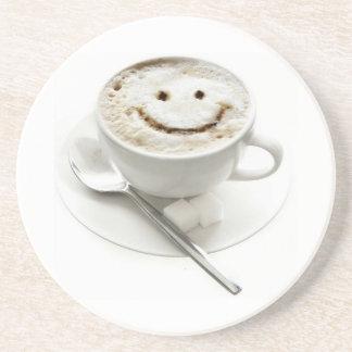 Coffee Smiley Drink Coaster