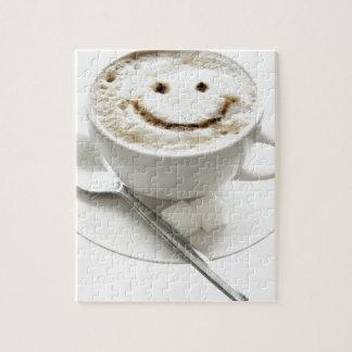 Coffee Smiley Jigsaw Puzzle