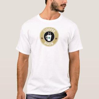 Coffee Snob, Coffee Humor T-Shirt