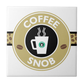 Coffee Snob, Coffee Humor Tile