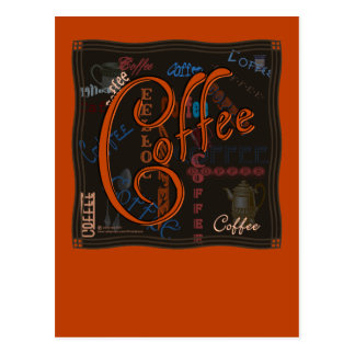 Coffee Spice Post Card