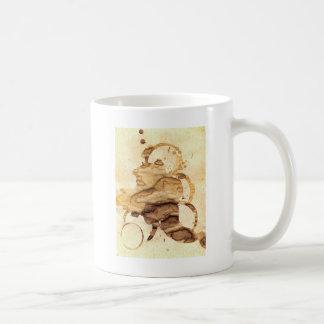 Coffee spills - Cool hand-made coffee spill design Coffee Mug