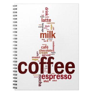 Coffee Spiral Notebooks