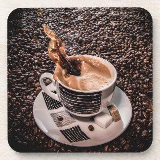 Coffee splash coaster