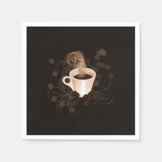 Coffee Splash Paper Napkin