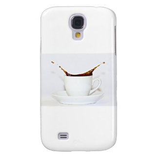 Coffee splash samsung galaxy s4 case