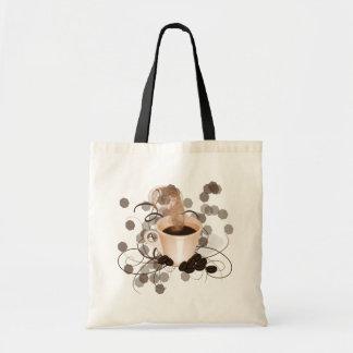 Coffee Splash Tote Bag
