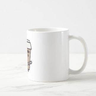 Coffee & Spoon Classic White Coffee Mug
