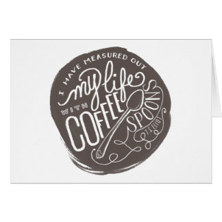 Coffee Spoons Card
