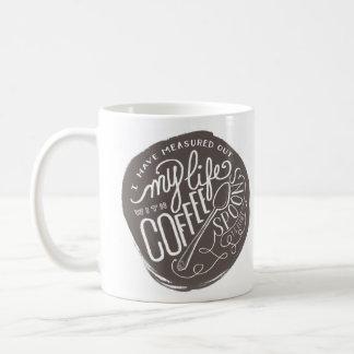 Coffee Spoons Classic White Coffee Mug