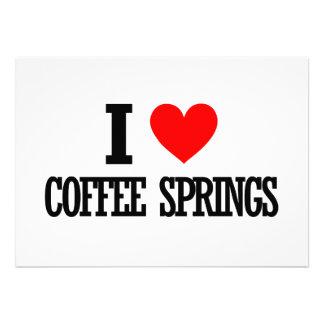 Coffee Springs Alabama City Design Personalized Invite