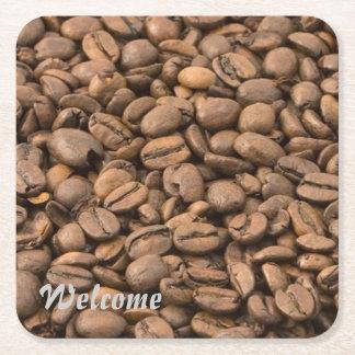 coffee square paper coaster