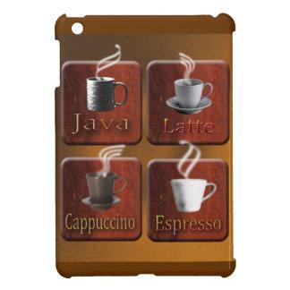 Coffee Squares ipad cover design iPad Mini Cases