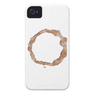 Coffee Stain Pattern iPhone 4 Case-Mate Case