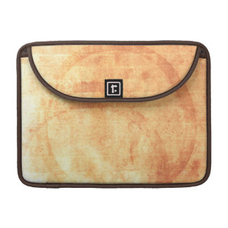 Coffee Stain Texture Sleeve For MacBooks