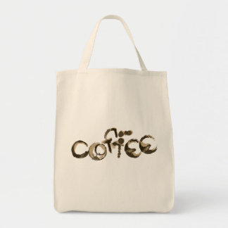 Coffee Stained Canvas Bag