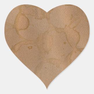 coffee stains background sticker