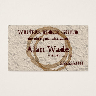 Coffee Stains Business Card