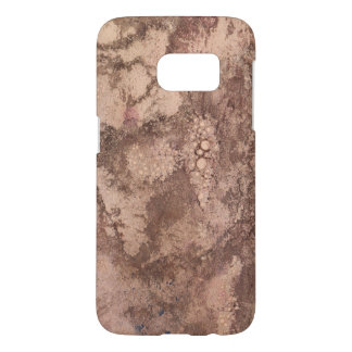 Coffee Stains on Vintage Paper Samsung Galaxy S7 Case