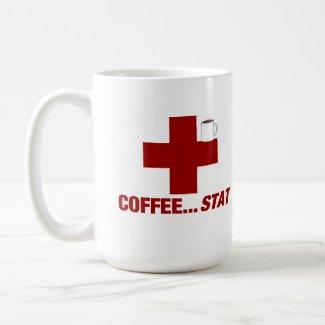 COFFEE .... STAT ! (A Coffee Emergency) Coffee Mugs